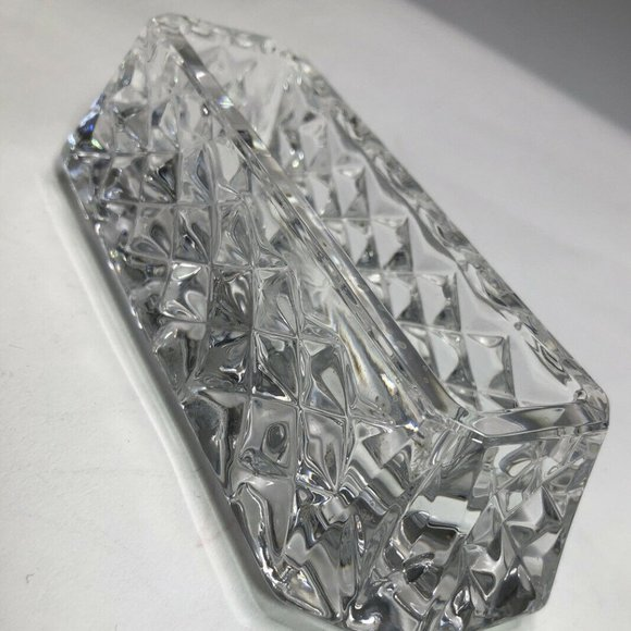 "Waterford Other - WATERFORD CRYSTAL ""WESTOVER"" BUSINESS CARD HOLDER"